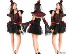 精品欧美万圣节制服 情趣角色扮演时尚性感舞会女王装游戏装